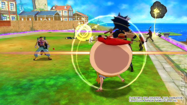 One Piece: Unlimited World: Red - PSVita Screen