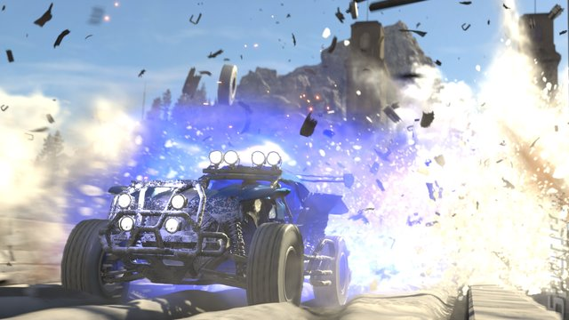 Onrush Editorial image