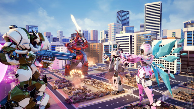 Override: Mech City Brawl - PS4 Screen