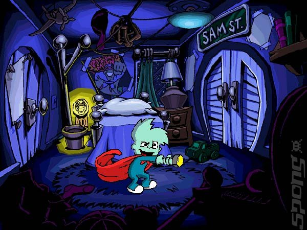 Pajama Sam: No Need to Hide When It's Dark Outside - Wii Screen