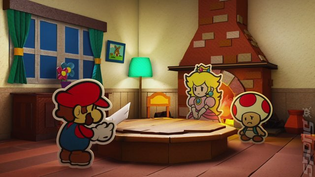 Paper Mario: Colour Splash Editorial image