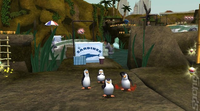 Penguins of Madagascar: Dr. Blowhole Returns Again - Wii Screen