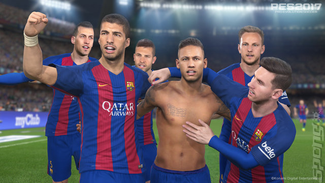 PES 2017 - PS3 Screen
