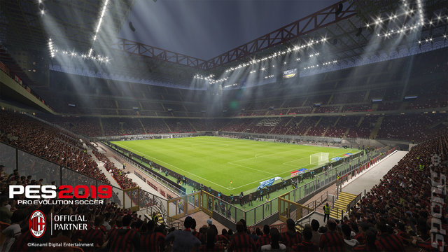 PES 2019 - PS4 Screen