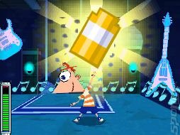 Phineas and Ferb: Across the 2nd Dimension - DS/DSi Screen