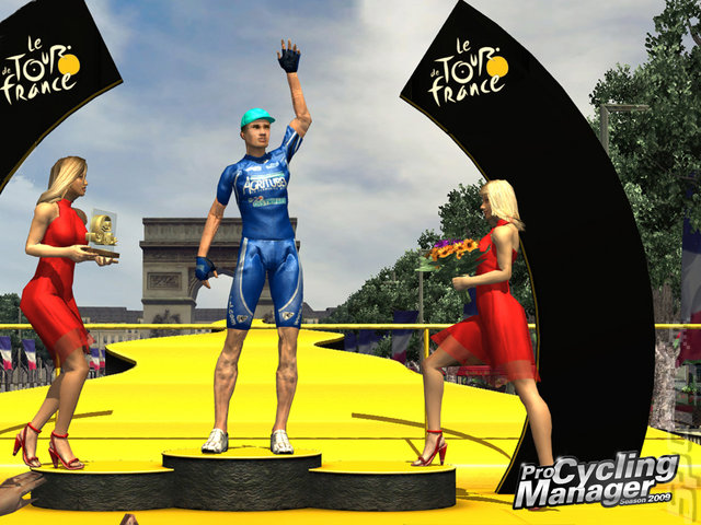 Pro Cycling Manager: Season 2009 - PC Screen
