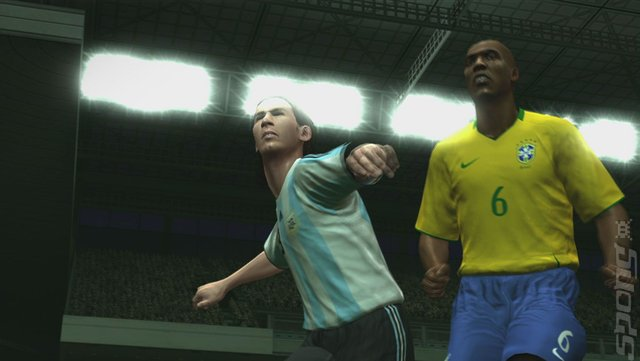Pro Evolution Soccer 2009 - PS2 Screen