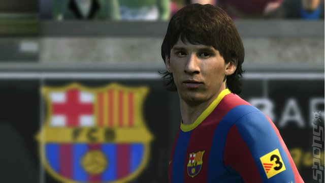 Pro Evolution Soccer 2011 - PS3 Screen