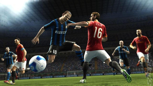 Pro Evolution Soccer 2012 - PC Screen