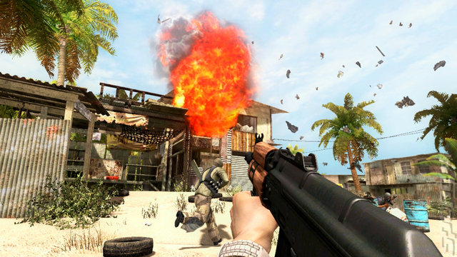 Quantum of Solace - PS3 Screen