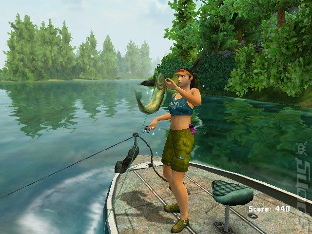 Screens rapala fishing frenzy 2009 wii 3 of 5 for Wii u fishing game