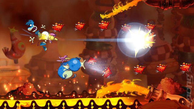 Rayman Origins - PC Screen