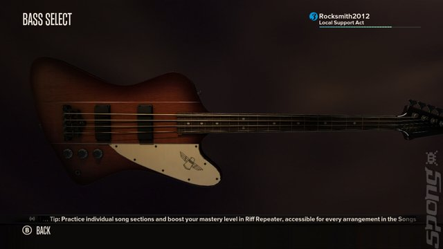 Rocksmith - PS3 Screen