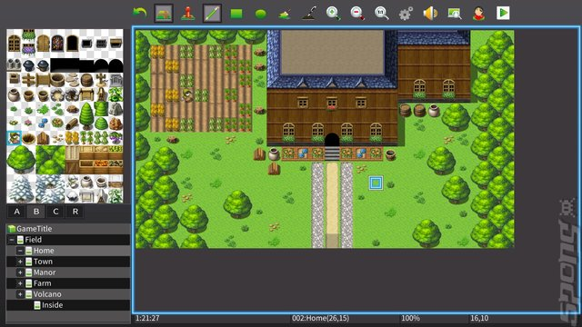 RPG Maker MV - PS4 Screen
