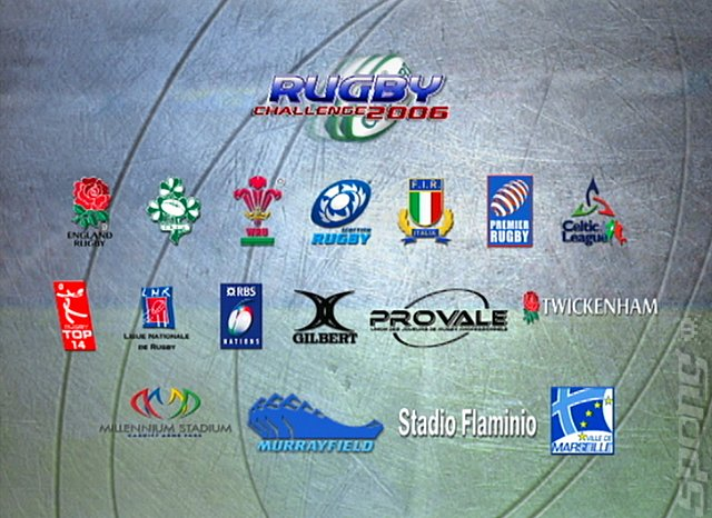 Rugby Challenge 2006 - PS2 Screen