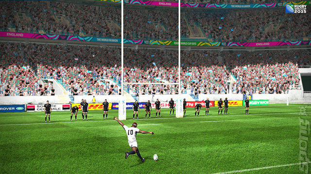 Rugby World Cup 2015 - Xbox 360 Screen