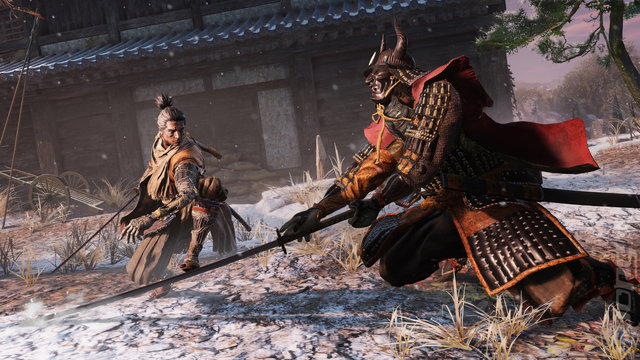 Sekiro: Shadows Die Twice - PS4 Screen
