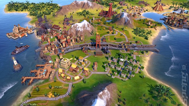 Sid Meier's Civilization VI - Xbox One Screen