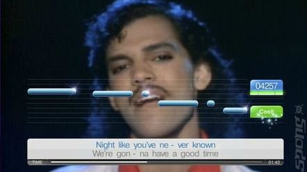 Singstar: Back To The 80s - PS3 Screen
