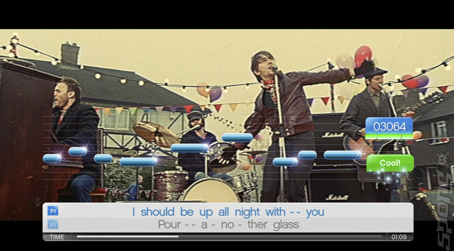 SingStar Take That - PS2 Screen