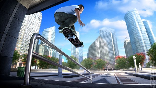 SKATE - featuring Danny Way (PS3/Xbox 360) Editorial image