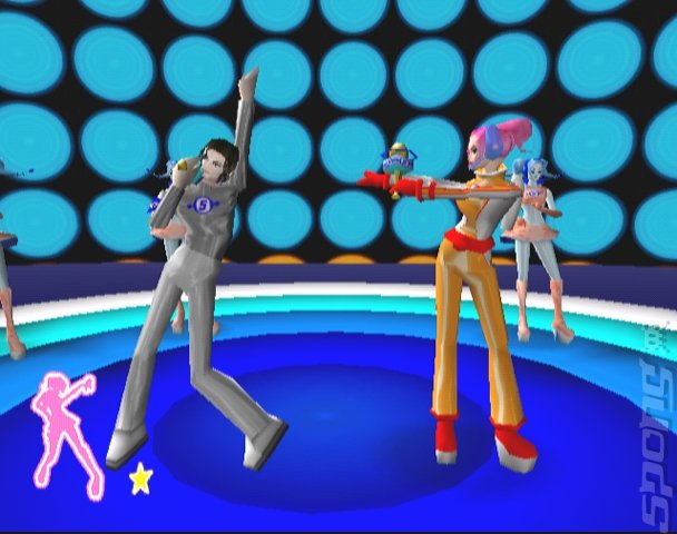 Space Channel 5 part 2 - PS2 Screen