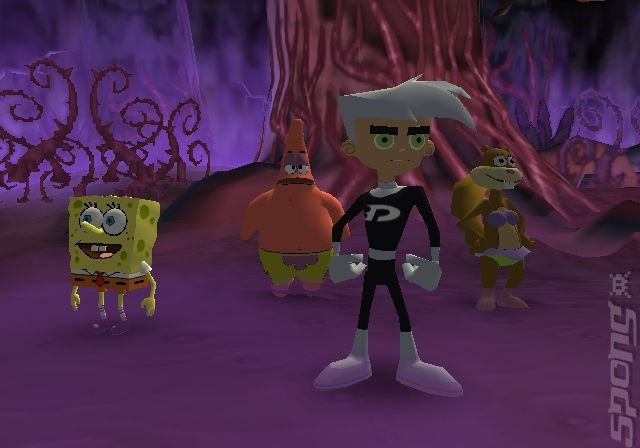 SpongeBob SquarePants and Friends: Battle For Volcano Island - PS2 Screen