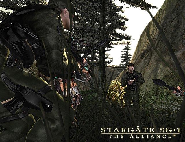 Stargate SG-1: The Alliance - PC Screen
