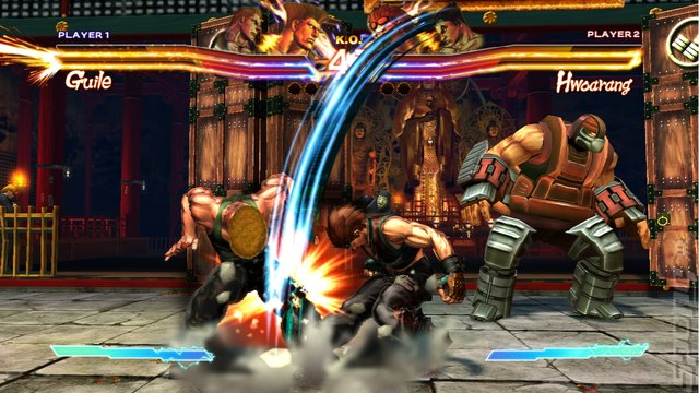 Street Fighter X Tekken - Xbox 360 Screen