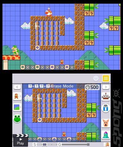 Super Mario Maker 3DS Editorial image