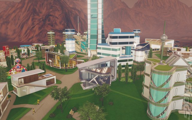 Surviving Mars - Xbox One Screen