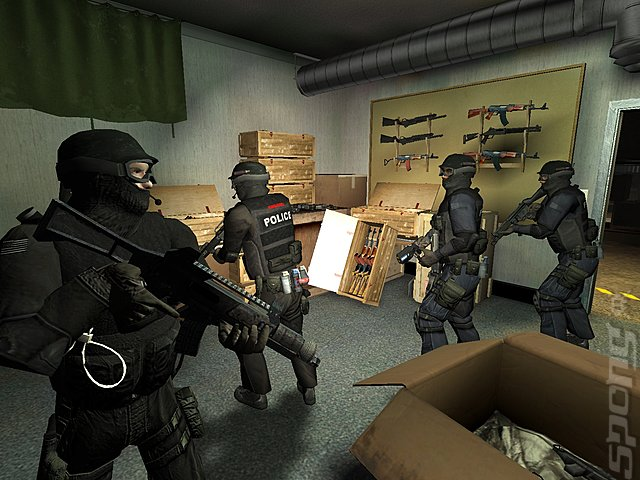SWAT 4: The Stetchkov Syndicate - PC Screen