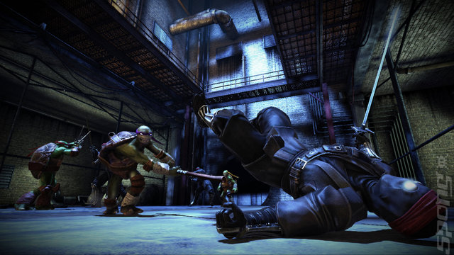 Teenage Mutant Ninja Turtles: Out of the Shadows - PS3 Screen