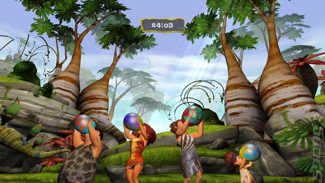 The Croods: Prehistoric Party & Rise of the Guardians Pack - Wii Screen
