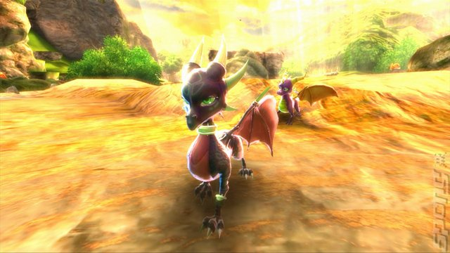 The Legend Of Spyro: Dawn Of The Dragon - PS3 Screen