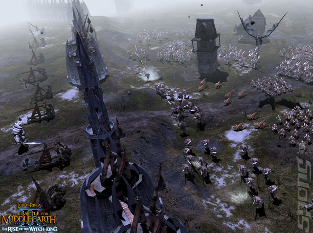 The Battle for Middle-Earth II: The Rise of the Witch-King - PC Screen