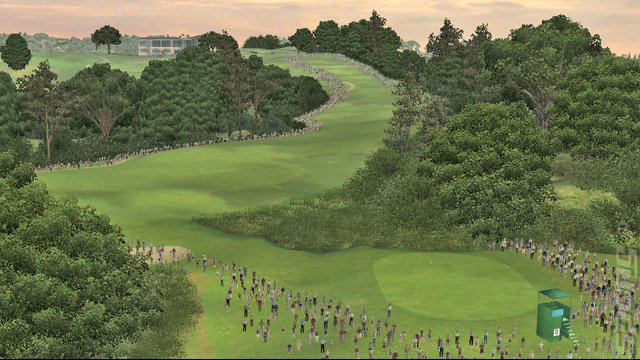 Tiger Woods PGA Tour 07 - PS3 Screen