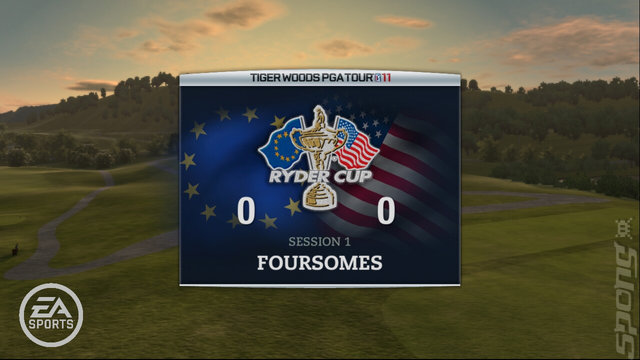 Tiger Woods PGA TOUR 11 - Xbox 360 Screen