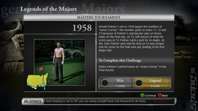Tiger Woods PGA TOUR 14 - PS3 Screen
