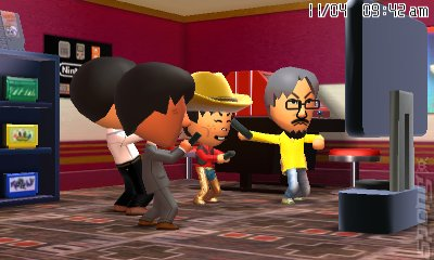 Tomodachi Life - 3DS/2DS Screen