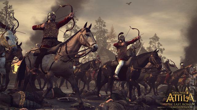 Total War: Attila: The Last Roman Editorial image