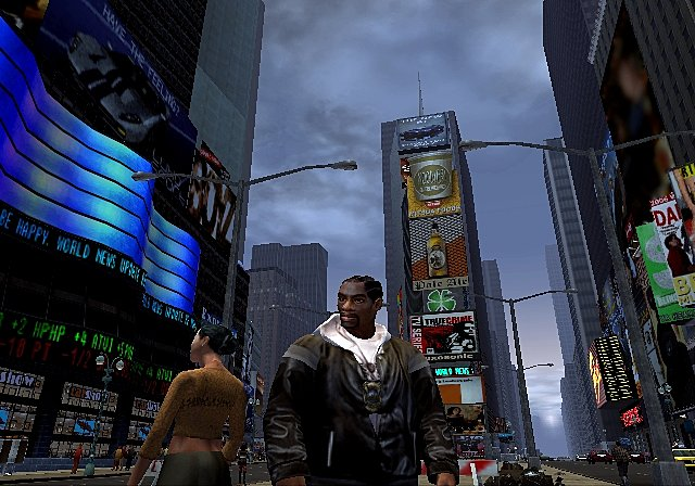 Gallery back to game screens true crime new york city ps2