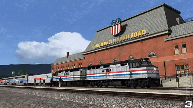 TS 2019: Train Simulator - PC Screen