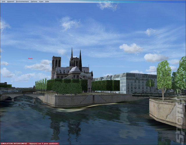 VFR Paris-City - PC Screen