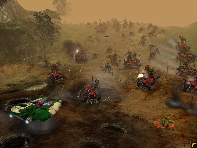 Warhammer 40,000: Dawn of War - PC Screen