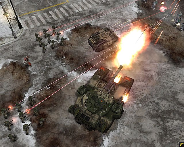 Warhammer 40,000 Dawn of War: Winter Assault - PC Screen