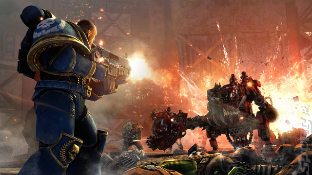 Warhammer 40,000: Space Marine - PC Screen