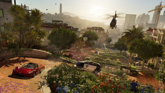 Watch_Dogs 2 Editorial image