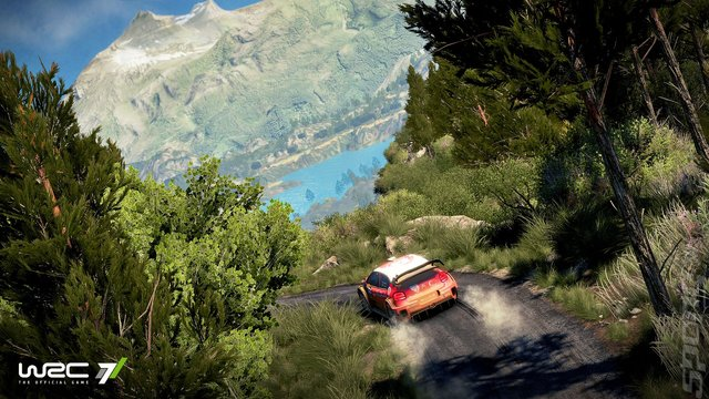 WRC 7: The Official Game - Xbox One Screen