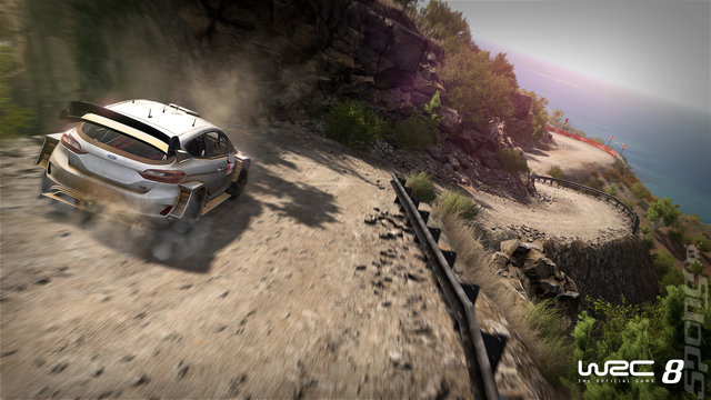 WRC 8 - PS4 Screen